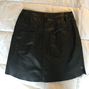 ONE TEASPOON leather skirt